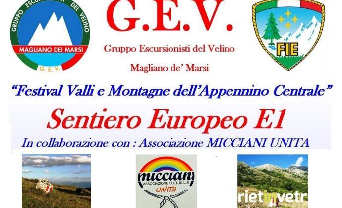 locandina_escursione_sentiero_europeo_e1_micciani_unita_gev_2018